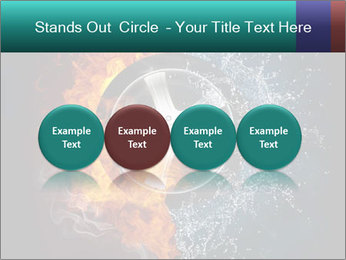 Water and Fire Over Wheel PowerPoint Templates - Slide 76