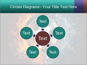 Water and Fire Over Wheel PowerPoint Templates - Slide 78
