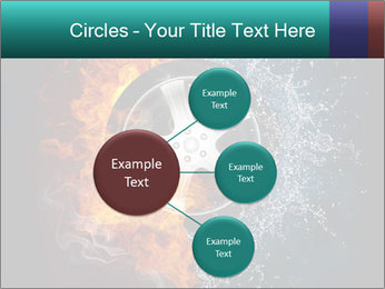 Water and Fire Over Wheel PowerPoint Templates - Slide 79