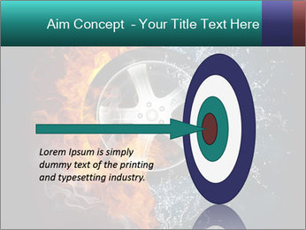 Water and Fire Over Wheel PowerPoint Templates - Slide 83