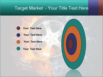 Water and Fire Over Wheel PowerPoint Templates - Slide 84