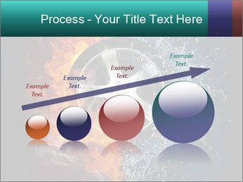 Water and Fire Over Wheel PowerPoint Templates - Slide 87