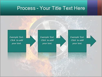 Water and Fire Over Wheel PowerPoint Templates - Slide 88