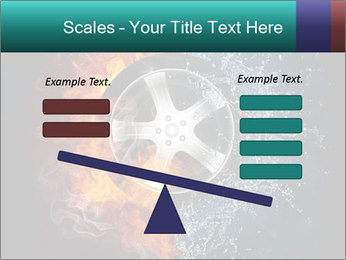Water and Fire Over Wheel PowerPoint Templates - Slide 89