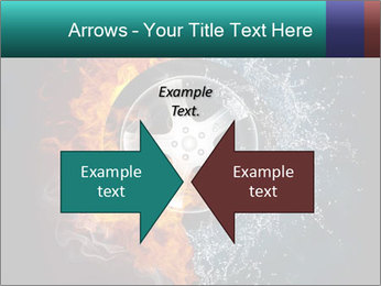 Water and Fire Over Wheel PowerPoint Templates - Slide 90