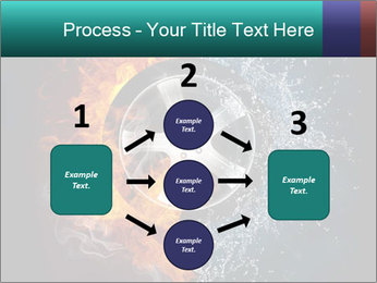 Water and Fire Over Wheel PowerPoint Templates - Slide 92