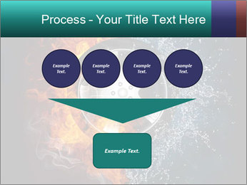Water and Fire Over Wheel PowerPoint Templates - Slide 93