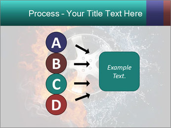 Water and Fire Over Wheel PowerPoint Templates - Slide 94