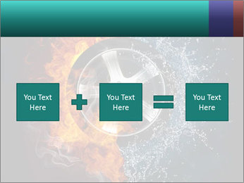 Water and Fire Over Wheel PowerPoint Templates - Slide 95