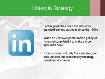 Stunning Woman in Silk Dress PowerPoint Template - Slide 12