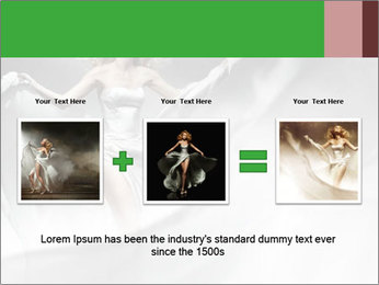 Stunning Woman in Silk Dress PowerPoint Template - Slide 22