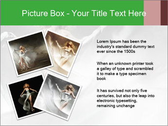 Stunning Woman in Silk Dress PowerPoint Template - Slide 23