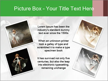 Stunning Woman in Silk Dress PowerPoint Template - Slide 24