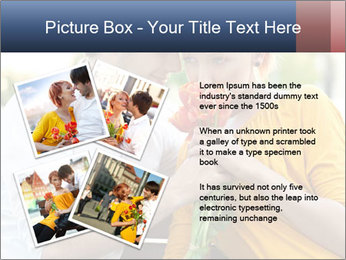 Flowers for the First Date PowerPoint Template - Slide 23