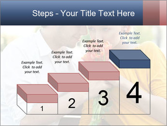 Flowers for the First Date PowerPoint Template - Slide 64