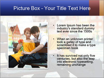 German Couple Dating PowerPoint Template - Slide 13