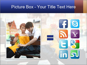 German Couple Dating PowerPoint Template - Slide 21