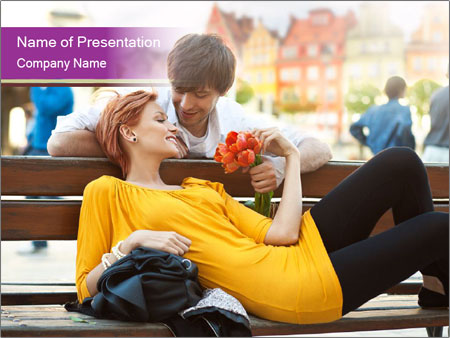 Romantic Dating PowerPoint Template