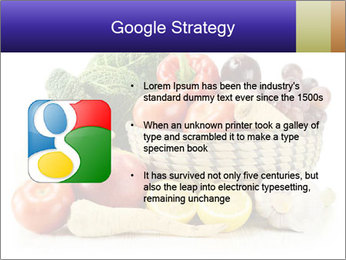 Raw Fruits and Vegetables PowerPoint Template - Slide 10