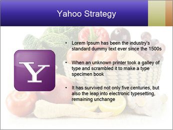 Raw Fruits and Vegetables PowerPoint Template - Slide 11