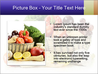Raw Fruits and Vegetables PowerPoint Template - Slide 13
