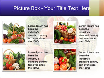Raw Fruits and Vegetables PowerPoint Template - Slide 14