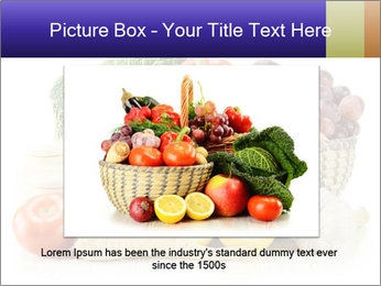 Raw Fruits and Vegetables PowerPoint Template - Slide 15