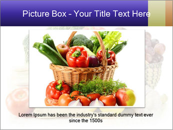 Raw Fruits and Vegetables PowerPoint Template - Slide 16