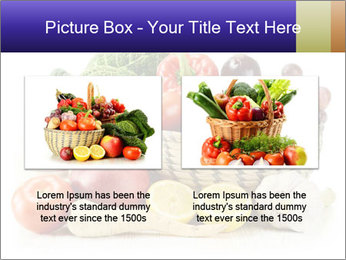 Raw Fruits and Vegetables PowerPoint Template - Slide 18