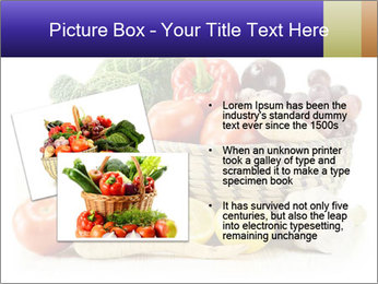 Raw Fruits and Vegetables PowerPoint Template - Slide 20