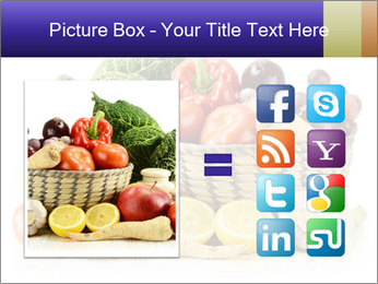 Raw Fruits and Vegetables PowerPoint Template - Slide 21