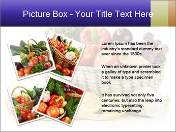 Raw Fruits and Vegetables PowerPoint Template - Slide 23
