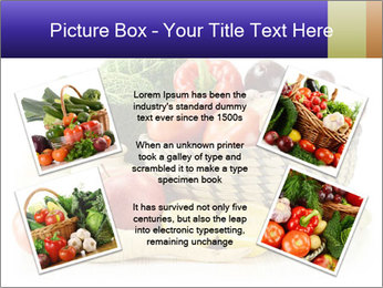 Raw Fruits and Vegetables PowerPoint Template - Slide 24