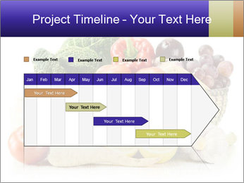 Raw Fruits and Vegetables PowerPoint Templates - Slide 25