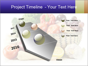Raw Fruits and Vegetables PowerPoint Templates - Slide 26