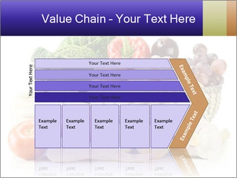 Raw Fruits and Vegetables PowerPoint Template - Slide 27