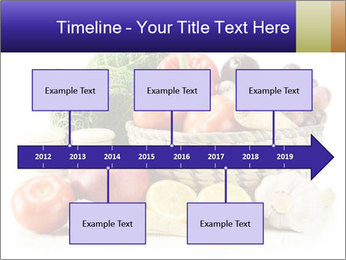 Raw Fruits and Vegetables PowerPoint Template - Slide 28