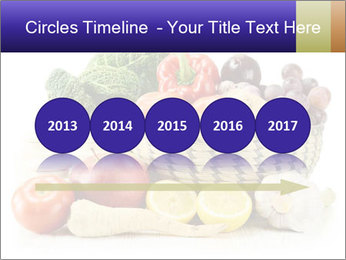 Raw Fruits and Vegetables PowerPoint Template - Slide 29
