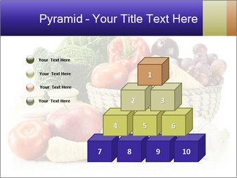 Raw Fruits and Vegetables PowerPoint Template - Slide 31