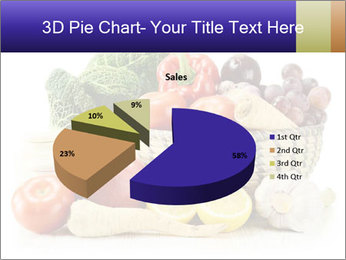Raw Fruits and Vegetables PowerPoint Templates - Slide 35