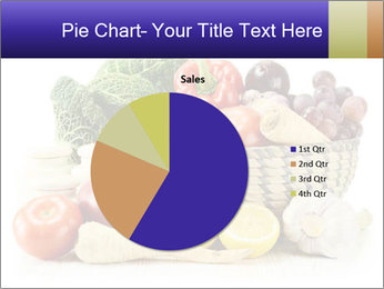Raw Fruits and Vegetables PowerPoint Template - Slide 36