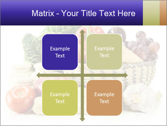 Raw Fruits and Vegetables PowerPoint Template - Slide 37