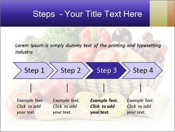 Raw Fruits and Vegetables PowerPoint Template - Slide 4