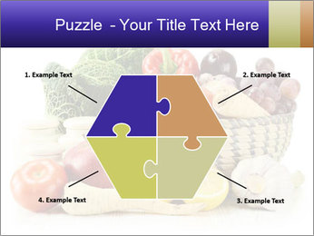 Raw Fruits and Vegetables PowerPoint Templates - Slide 40
