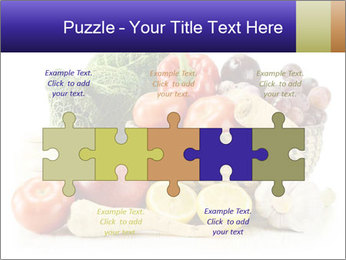 Raw Fruits and Vegetables PowerPoint Templates - Slide 41