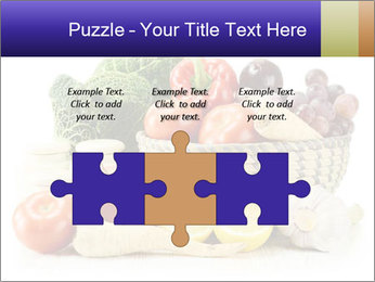 Raw Fruits and Vegetables PowerPoint Template - Slide 42