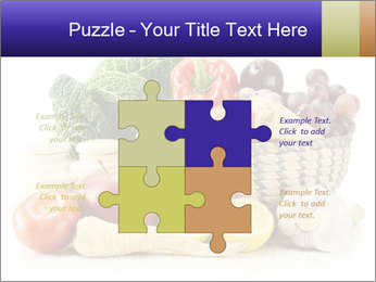 Raw Fruits and Vegetables PowerPoint Templates - Slide 43