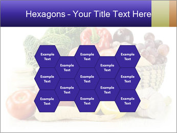 Raw Fruits and Vegetables PowerPoint Template - Slide 44