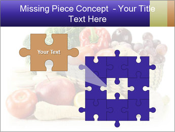 Raw Fruits and Vegetables PowerPoint Template - Slide 45