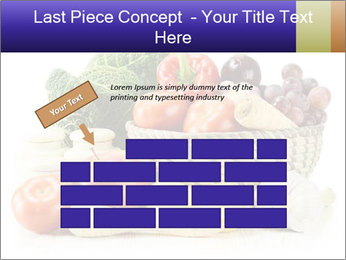 Raw Fruits and Vegetables PowerPoint Templates - Slide 46